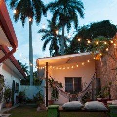 La Hamaca Hostel Кровать в общем номере с двухъярусной кроватью фото 5