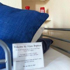Kipps Brighton Hostel Кровать в общем номере с двухъярусной кроватью фото 8