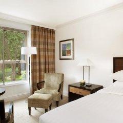 Отель Hyatt Regency London - The Churchill 5* Стандартный номер с различными типами кроватей фото 13