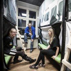 Copenhagen Backpackers Hostel Кровать в общем номере с двухъярусной кроватью фото 6