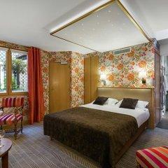 Отель Hôtel Saint Paul Rive Gauche 4* Улучшенный номер с различными типами кроватей фото 4