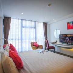 Hotel Icon Bangkok 4* Улучшенный номер с различными типами кроватей фото 5