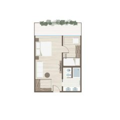Отель Feuerstein Nature Family Resort 5* Стандартный номер