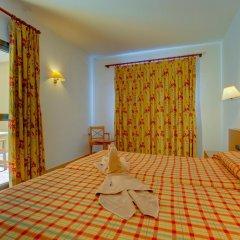 Отель SBH Club Paraíso Playa - All Inclusive 4* Стандартный семейный номер разные типы кроватей фото 2