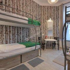 Hostel Lwowska 11 Кровать в женском общем номере с двухъярусной кроватью