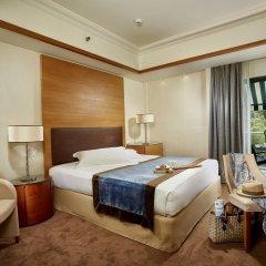 Отель Rodos Park Suites & Spa 4* Номер Делюкс с различными типами кроватей