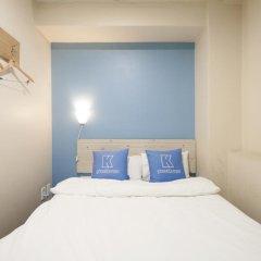 Отель K-guesthouse Sinchon 2 2* Стандартный номер с различными типами кроватей фото 11