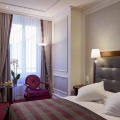 Отель Schweizerhof Zürich 4* Стандартный номер с двуспальной кроватью