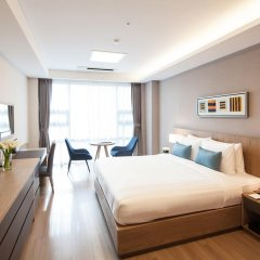 Отель Fraser Place Central Seoul 4* Студия с различными типами кроватей