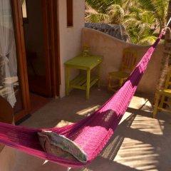 Отель Posada del Sol Tulum 3* Улучшенный номер с различными типами кроватей фото 13