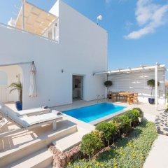 Отель Santorini Secret Suites & Spa 5* Вилла Junior с различными типами кроватей фото 19