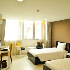 Minh Khang Hotel 3* Номер Делюкс с 2 отдельными кроватями фото 3