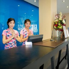 Grand Scenaria Hotel Pattaya интерьер отеля