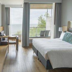 Отель Sopot Marriott Resort & Spa 4* Улучшенный номер с различными типами кроватей фото 2