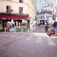 Отель Studios Paris Bed & Breakfast Le Jardin de Montmartre Париж спортивное сооружение
