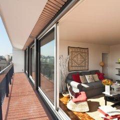 Отель Appartement le Méridien балкон