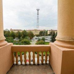 Отель Guide of Minsk Ploschad Pobedy Минск балкон
