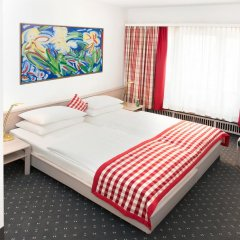 Отель IMLAUER & Bräu Австрия, Зальцбург - 1 отзыв об отеле, цены и фото номеров - забронировать отель IMLAUER & Bräu онлайн комната для гостей фото 3