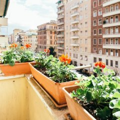 Отель Home@Rome Италия, Рим - отзывы, цены и фото номеров - забронировать отель Home@Rome онлайн балкон