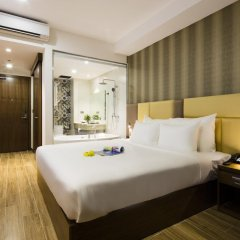 Sen Viet Premium Hotel Nha Trang 4* Номер Делюкс с 2 отдельными кроватями фото 4