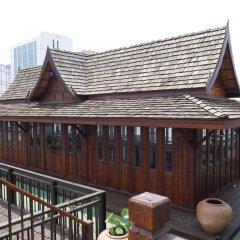 Отель True Siam Rangnam Бангкок вид на фасад