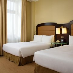 Гостиница Hilton Москва Ленинградская 5* Номер Делюкс с различными типами кроватей фото 11