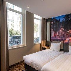 Отель Inner Amsterdam 2* Стандартный номер с 2 отдельными кроватями фото 3