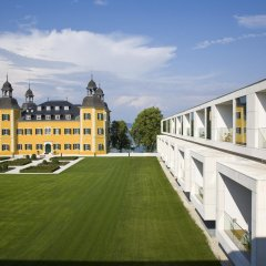 Отель Falkensteiner Schlosshotel Velden парковка