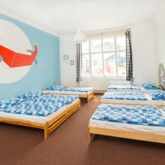 Hostel Downtown Стандартный семейный номер с двуспальной кроватью фото 9