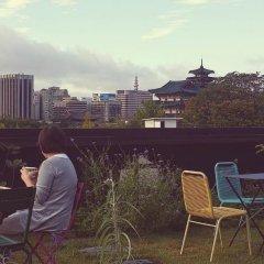 Отель A House Южная Корея, Сеул - отзывы, цены и фото номеров - забронировать отель A House онлайн балкон