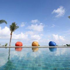 Отель Dusit Thani Guam Resort США, Тамунинг - 1 отзыв об отеле, цены и фото номеров - забронировать отель Dusit Thani Guam Resort онлайн бассейн фото 3