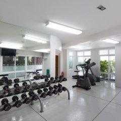 Отель The Park Surin фитнесс-зал