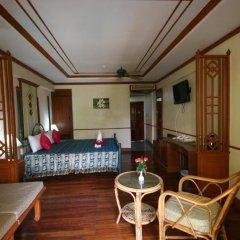 Отель Krabi Success Beach Resort 4* Улучшенный номер с различными типами кроватей фото 6