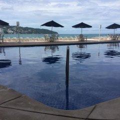 Отель Apartamento Estrella Del Mar Acapulco бассейн