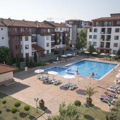 Отель Apollon Apartments Болгария, Несебр - отзывы, цены и фото номеров - забронировать отель Apollon Apartments онлайн бассейн фото 3