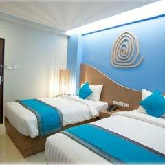 SF Biz Hotel 3* Номер Делюкс с различными типами кроватей фото 8