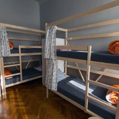 Artist Hostel na Kievskoy Кровать в женском общем номере с двухъярусной кроватью