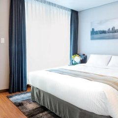 Отель Citadines Haeundae Busan 3* Студия с различными типами кроватей фото 4