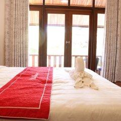 Отель Villa Oasis Luang Prabang 3* Номер Делюкс с двуспальной кроватью фото 4
