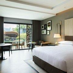 Отель Hua Hin Marriott Resort & Spa 5* Номер Делюкс с различными типами кроватей фото 3