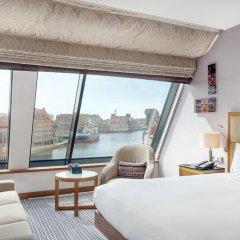 Отель Hilton Gdansk 5* Стандартный номер с различными типами кроватей фото 5