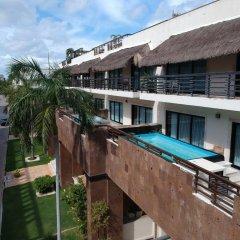 Отель Aldea Thai by Ocean Front Плая-дель-Кармен балкон