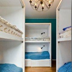 Hostel Moroshka Кровать в общем номере с двухъярусной кроватью фото 9