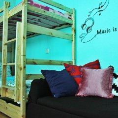Хостел Джон Леннон Кровать в общем номере с двухъярусными кроватями фото 5