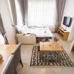 Апартаменты Feyza Apartments Студия Делюкс с различными типами кроватей фото 24