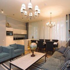 Отель Aparthotel Wooden Villa 5* Апартаменты с различными типами кроватей фото 7