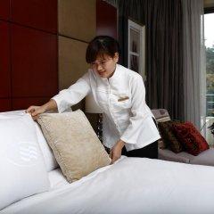 Отель Hilton Guangzhou Science City 4* Улучшенный номер с различными типами кроватей фото 4