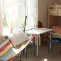 Гостиница Localhostel Кровать в общем номере с двухъярусной кроватью фото 2