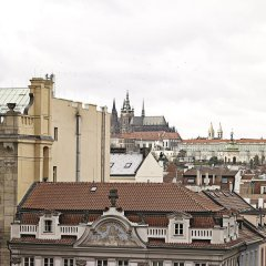 Отель Ambassador Zlata Husa Прага балкон