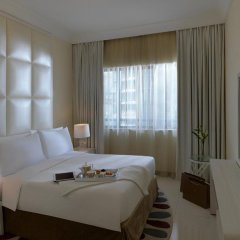 Отель DAMAC Maison Mall Street 5* Номер Делюкс с различными типами кроватей фото 3
